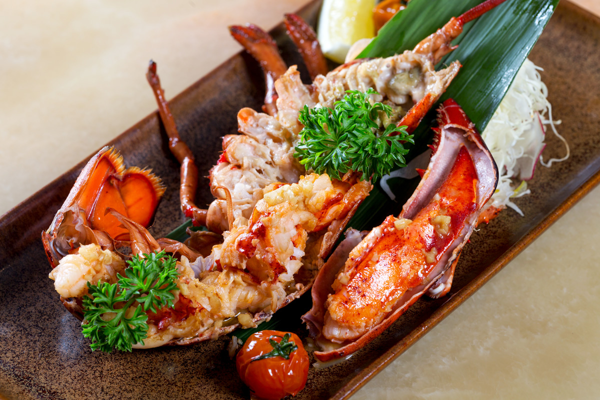 Canadian Lobster Teppanyaki