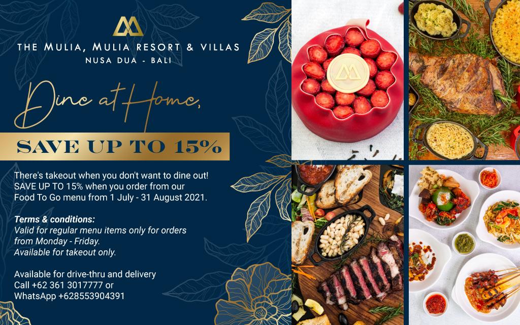 Mulia Bali Food to Go