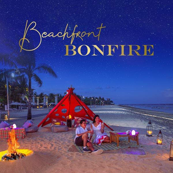 Beachfront Bonfire