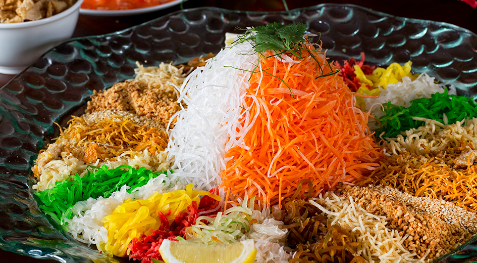 Chinese New Year Yee Sang