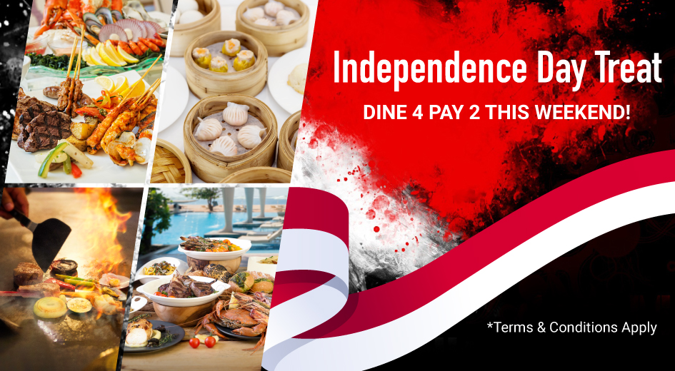 Dine 4 Pay 2 for Indonesia