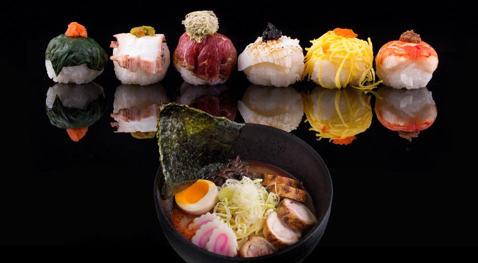 Scrumptious All You Can Eat Ramen & Sushi